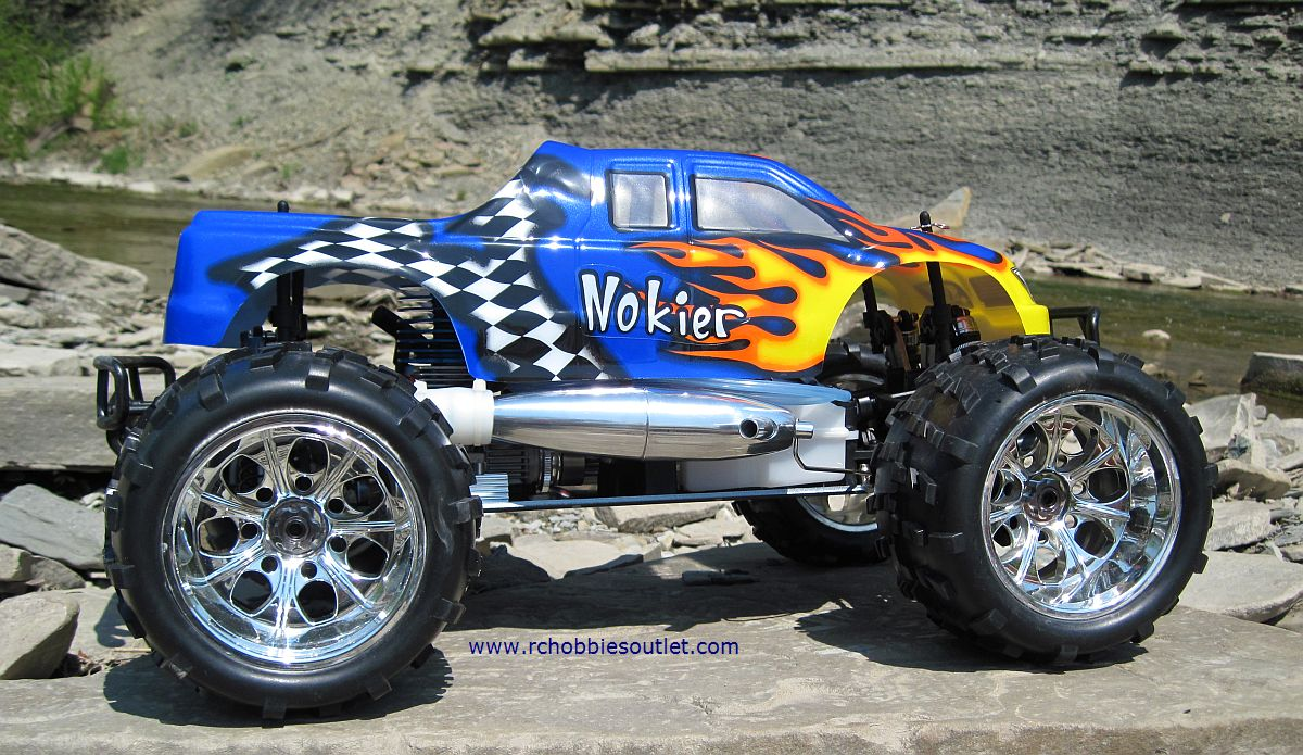 nitro gas rc trucks with Rc Nitro Truck 1 8 Scale Radio Control 3 5cc 4wd 2 4g 08313 on Watch likewise Jeep Power Wheels Style Parental Remote Control Ride On also Photo moreover Axial Yeti Rock Racer Kit 3 Copy likewise Rc Nitro Truck 1 8 Scale Radio Control 3 5cc 4wd 2 4g 08313.