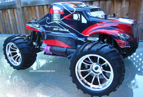 RC NITRO GAS  TRUCK  HSP 1/10 Scale 4WD 2.4G RTR  88033