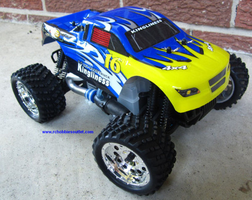 RC NITRO MONSTER TRUCK 1/16 Scale 2.4G 4WD RTR YX28604