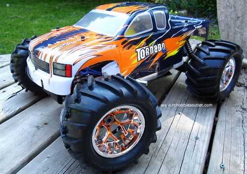 RC NITRO TRUCK 1/8 Scale  RADIO CONTROL RC 4.57cc  4WD 2.4G 86291