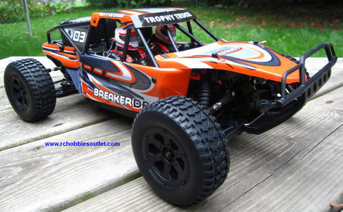 RC Electric Trophy truck
