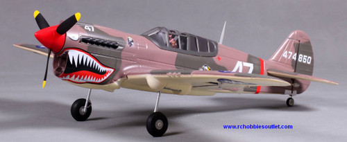 P40 Warhawk RC Plane / Airplane 4CH Electric Radio Control  ARF RTF