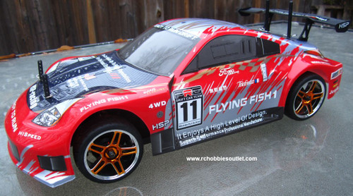 RC brushless electric car