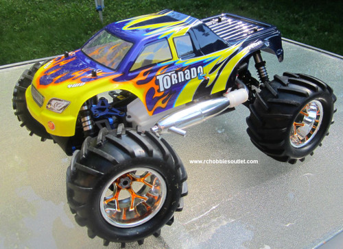 RC MONSTER NITRO TRUCK 1/8 Scale RADIO CONTROL   4WD  2.4G 08316