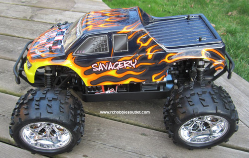 RC Brushless Electric Monster Truck Top 2 1/8 Scale 4WD 2.4G  08304