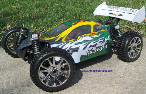 RC Car / Buggy  Brushless Electric 1/8 Scale TOP PRO LIPO 4WD  81356