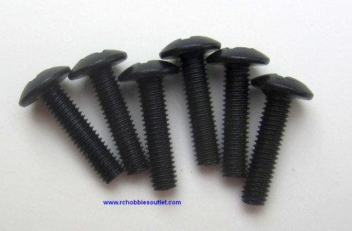 02176 Cap Head Screw 3*12 HSP, Windhobby 6 pieces