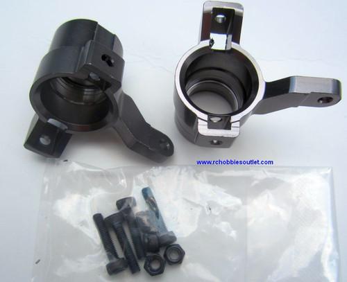 81705 Alloy Steering Arm/Hubs HSP 1/8 Scale BAZOOKA TORNADO, etc.