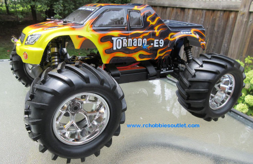 RC Brushless Electric Truck 1/8 Scale  E9 Pro LIPO 4WD 08304