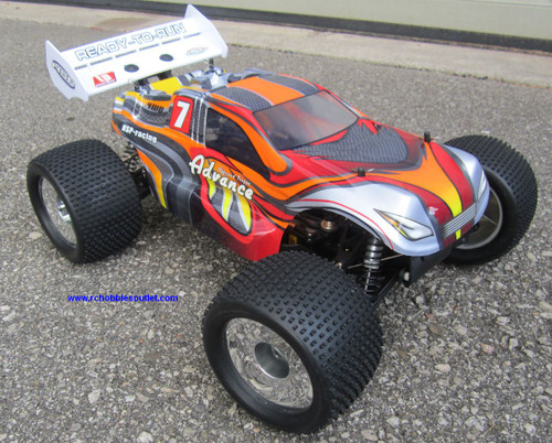 RC Truggy Brushless Electric 1/8 Scale TOP  LIPO 4WD 2.4G  08061-4