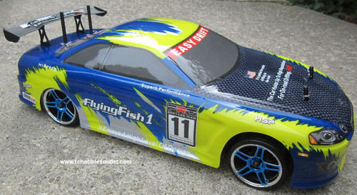 RC DRIFT CAR ELECTRIC  RADIO REMOTE CONTROL 2.4G RTR 1/10 Scale  12305