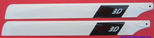 PRO-3251  Main Blade for e-Razor 450 Helicopter -Carbon Fiber