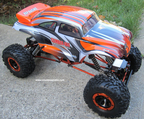 RC Rock Crawler Truck with 4 Wheel Steering 1/10 Scale 2.4G  4WD  88217