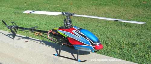 RC Helicopter E-RAZOR 450 Radio Control Brushless Electric DY8995