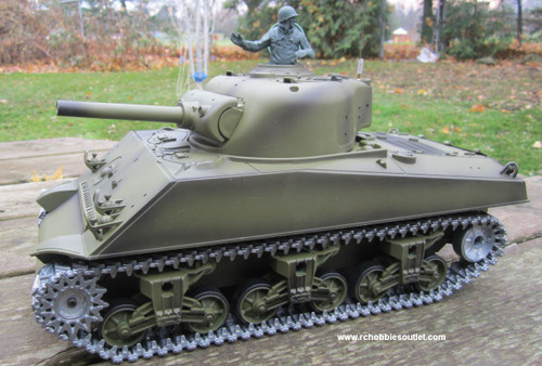 RC Tank Sherman M4A3 Pro Verison 1/16 Scale Metal upgrades