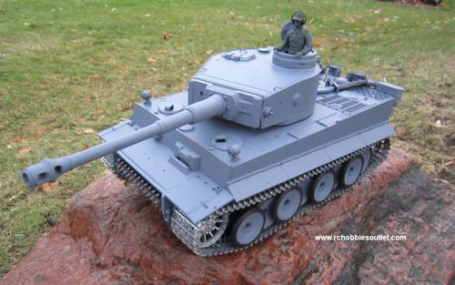 RC Tank TIGER 1 Pro Version 1/16 Scale Metal Upgrades, 3818-1 Smoke