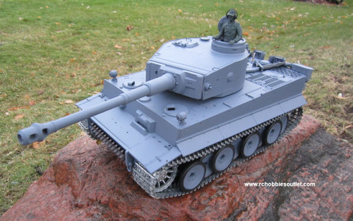 RC Tank TIGER 1 Pro Version 1/16 Scale Metal Upgrades 3818
