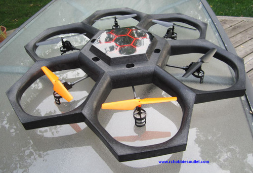 RC Hexacopter / Quadcopter 6 Axis 2.4G Massive - Over 76cm wide