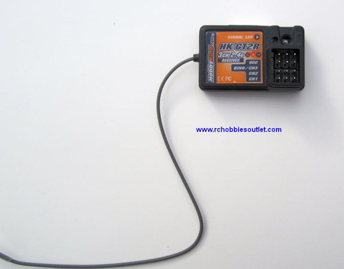 GT2 3 Channel 2.4G Receiver