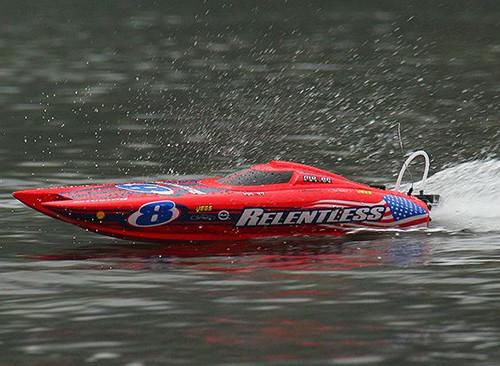 Quanum Relentless Brushless Electric Catamaran RC Racing Boat