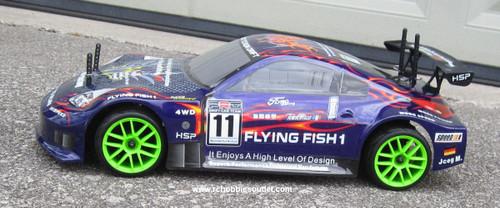 RC Nitro car  1/10 scale