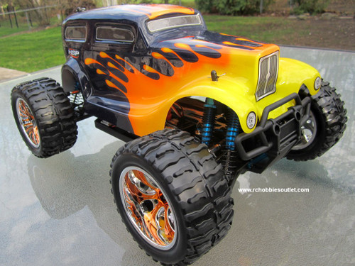 RC Truck brushless electric 1/10 scale