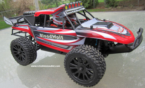 RC Sand Rail Buggy / Car Electric 1/16 Scale 2.4G  4WD  RTR  68492