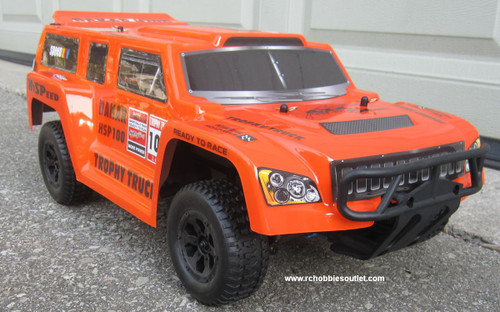 %name RC Nitro Gas Trophy Truck  HSP 1/10 Scale 4WD  RTR  2.4G 12891