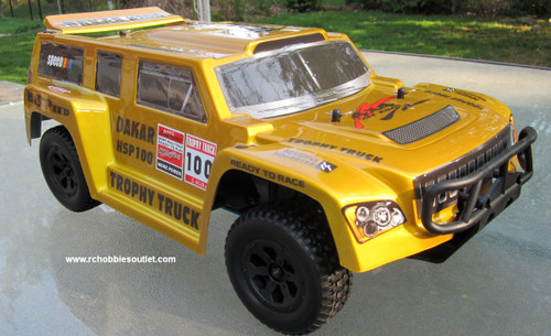 RC Nitro Gas Trophy Truck  HSP 1/10 Scale 4WD  RTR  2.4G 12892