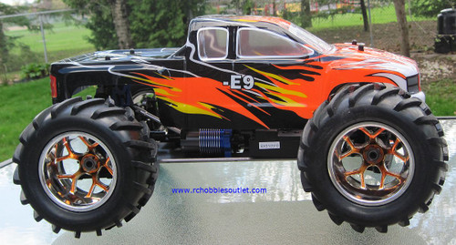 RC Brushless Electric Truck 1/8 Scale  E9 Pro LIPO 4WD   86291