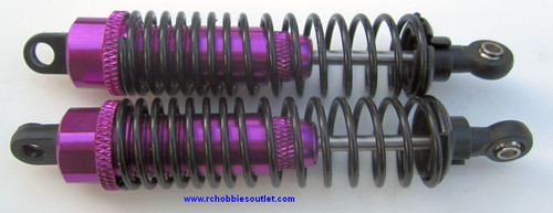 106004  Aluminum Purple Shock Absorbers 1/10  HSP , Redcat 2P 06002