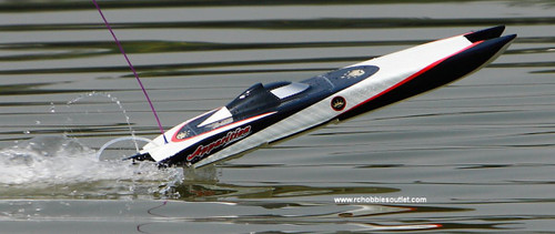 Apparition RC Boat Brushless Electric, 2.4G Fiberglass Twin Hull