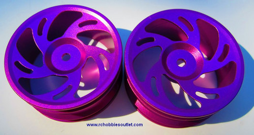 102239 1/10 Scale Purple Rims Only HSP Redcat