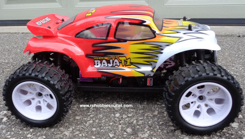 RC Electric Baja Truck 1/10 Scale 4WD Off Road RTR  11711