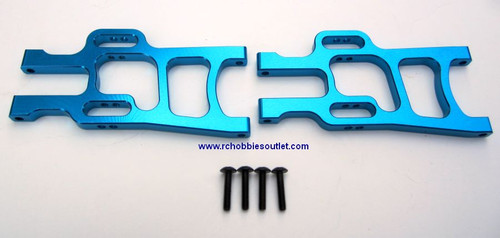 08055 or 108019 or 108819 Blue Aluminum Front Lower Arm HSP Redcat ETC (108819)