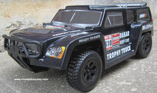 RC Nitro Gas Trophy Truck  HSP 1/10 Scale 4WD  RTR  2.4G 12894