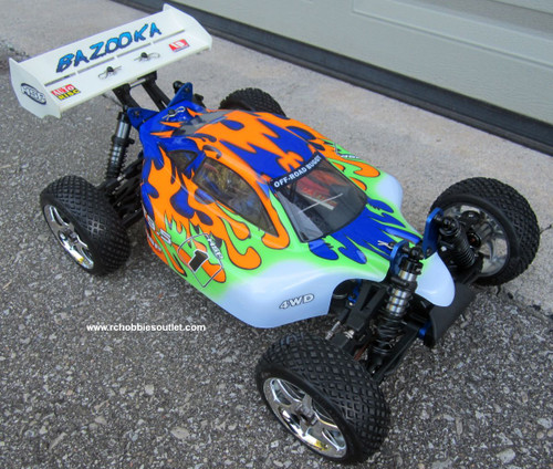 RC Buggy/ Car  Bazooka Brushless Electric LIPO 1/8 Scale BT9.5  Pro 4WD 81343