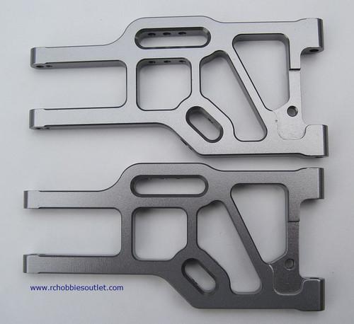 760003 Front Lower Suspension Arm (Al.) 2P Silver