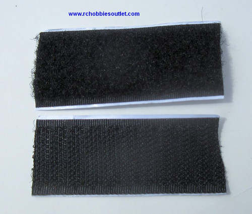 Velcro strip for attaching Batteries etc. ( 2 Pieces)