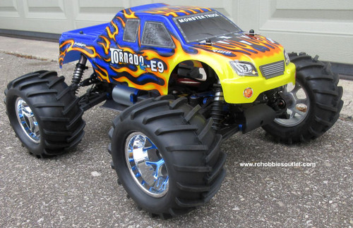 RC Brushless Electric Truck 1/8 Scale  E9 Pro LIPO 4WD  08301