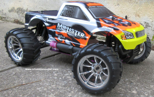 %name RC Nitro Gas Truck  HSP 1/10 Scale 4WD 2.4G RTR  25188 1