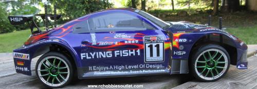RC Nitro Race Car  Radio Remote Control 1/10 Scale 2.4G RTR 4WD 12309