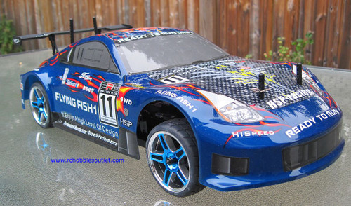 RC Brushless Electric Race Car HSP 1/10 Scale Pro  4WD 2.4G 12307
