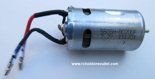 24866 HSP Brushed Motor / Engine with Wires and Capacitors RC550