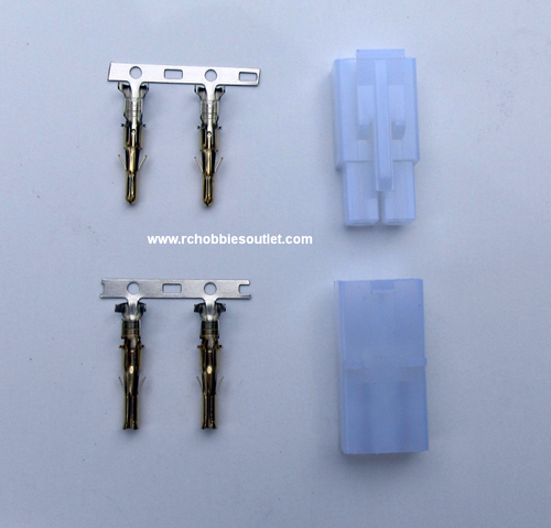 Tamiya Connector -- Male and Female