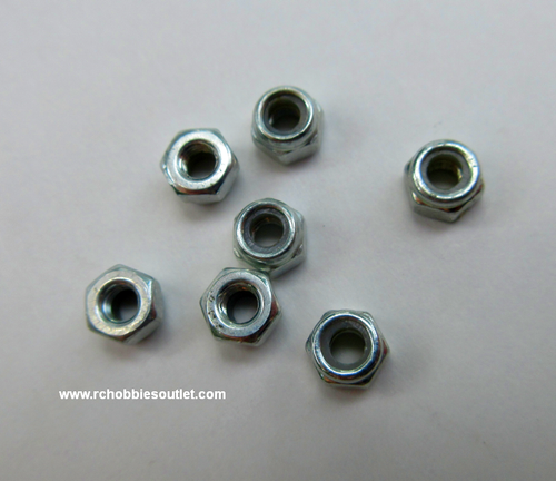 Metal Nut 3mm used for L160-2 Drone (7pcs)