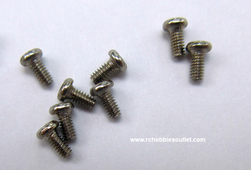2x3mm Metal Screw (8pcs)