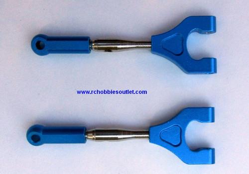 286020 1/16 Scale Alloy Aluminium Rear Upper Suspension Arms x2 286620 HSP Redcat