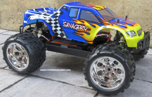 RC Monster  Truck  1/8 Scale Top 2 Brushless  Electric 2.4G 4WD 08313
