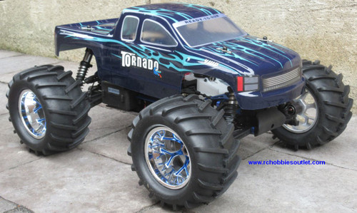 RC Nitro Truck 1/8 Scale 4.57cc Motor  Radio Control 4WD 2.4G 86298 .28